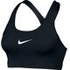 Nike Swoosh Sports Bra Women black/white